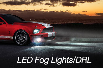 daytime running fog lights